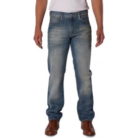 Mens Straight Fit Chaparral Rinse Jean