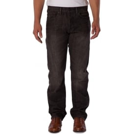 Mens Straight Fit Lincoln Rinse Jean
