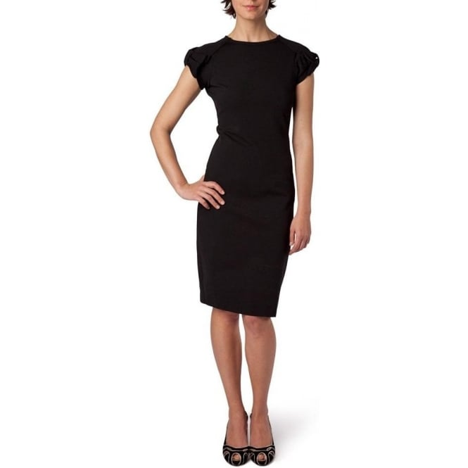 Red Valentino Lace Back Sleeveless Jersey Dress