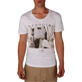 Short Sleeve What You Looking At Graphic Print T Shirt