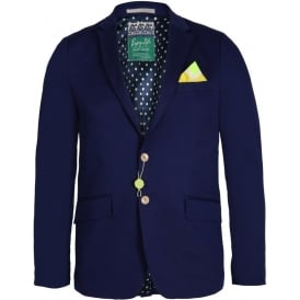 Bright Coloured Blazer, Marine