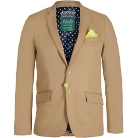 Bright Coloured Blazer, Sand