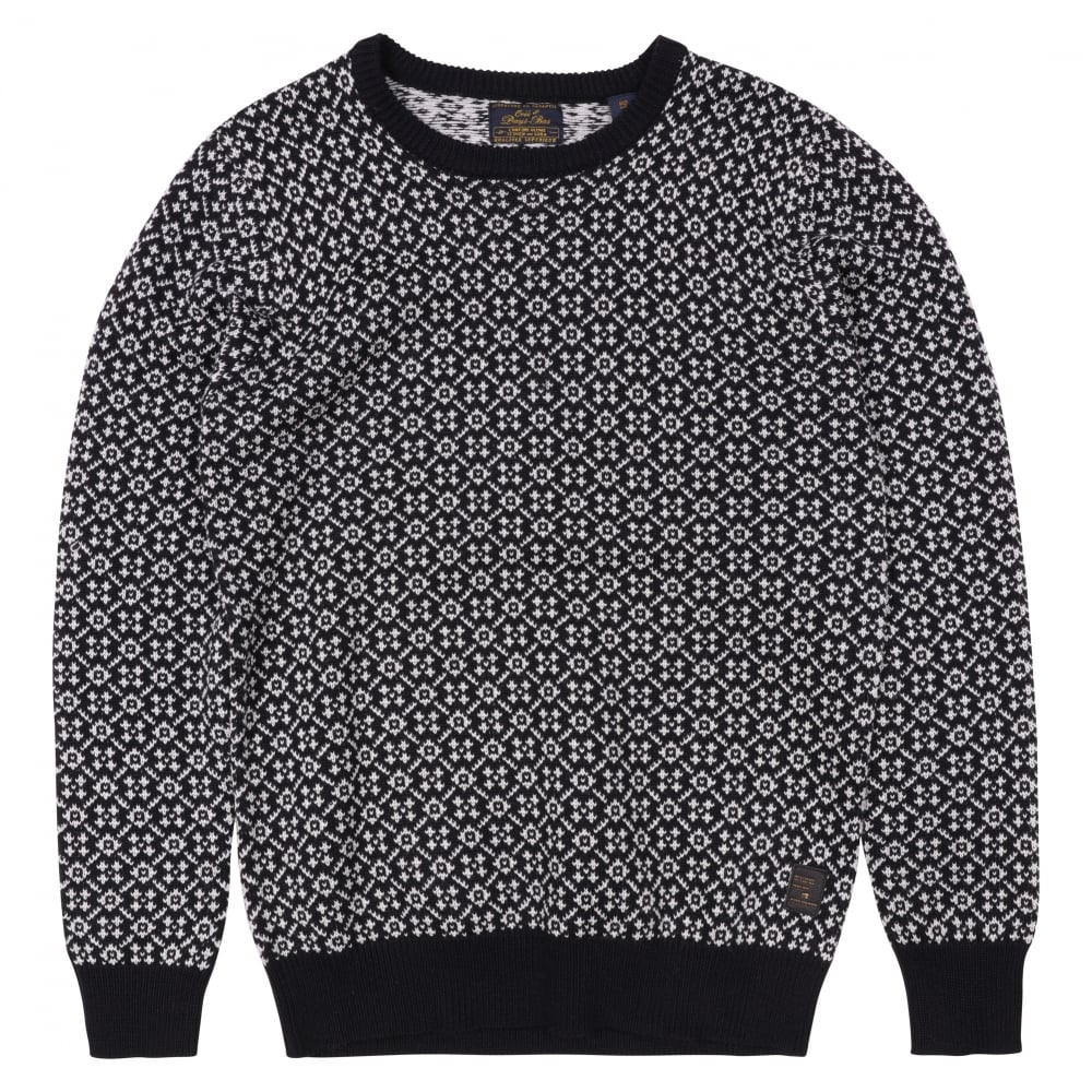 scotch and soda crew pull knit sport pullover fussy nation. Black Bedroom Furniture Sets. Home Design Ideas