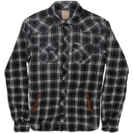 Long Sleeve Bonded Check Shirt