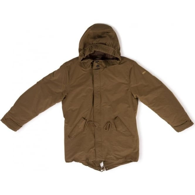 Scotch & Soda Quilt Lined City Parka (Military)