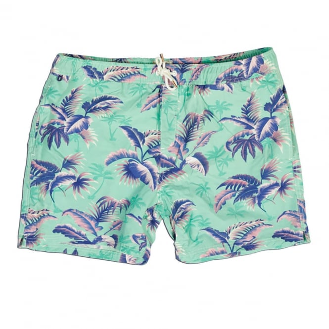 Scotch & Soda Short Length Swim Short, Dessin U