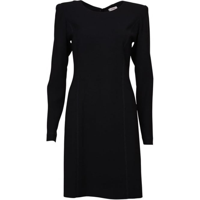 Sonia By Sonia Rykiel Robe ML L/S Crepe Dress