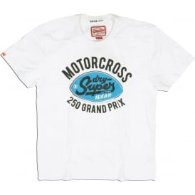 Dirtbike Tee, White