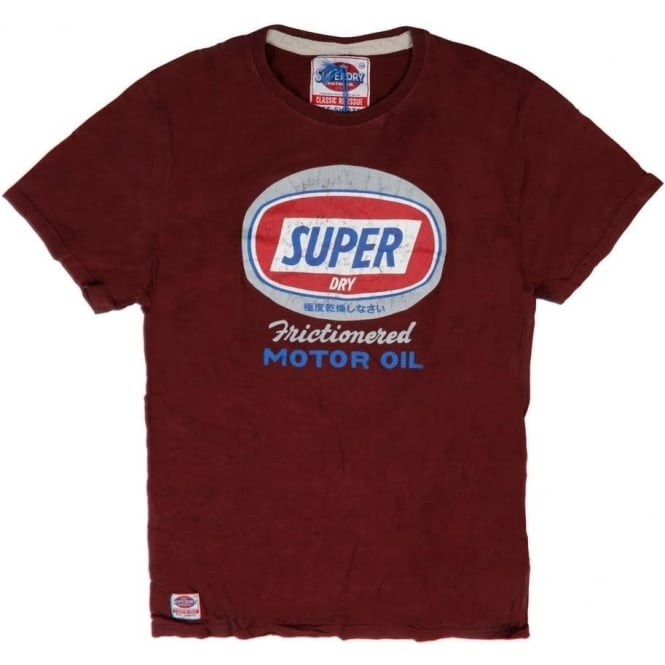 Superdry Sale Friction Classic Tee, Port Marl