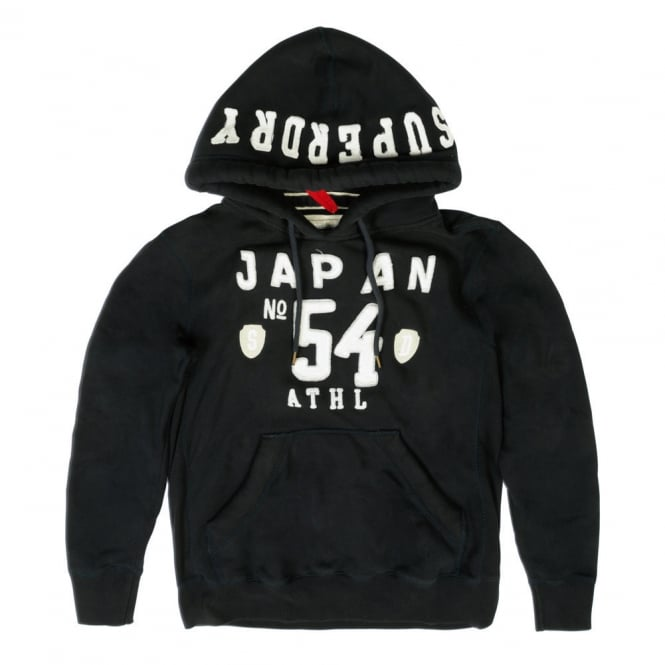 Superdry Sale Japan Ath Applique Hoody, French Navy