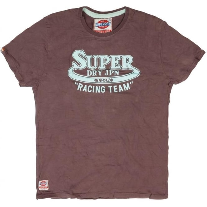 Superdry Sale Racing Team Classic Tee, Port Marl