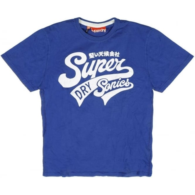 Superdry Sale Supersonics Entry Tee, Everton/Optic