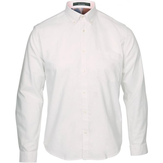 The Barbour Steve McQueen™ Collection Brook Shirt, White