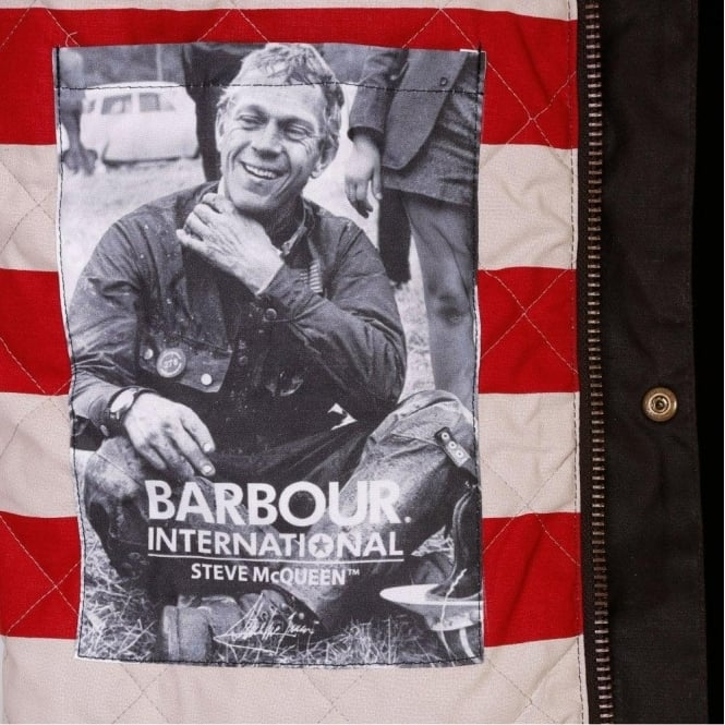 b33e7839f8f The Barbour Steve McQueen™ Collection Crown Waxed Jacket (Olive)