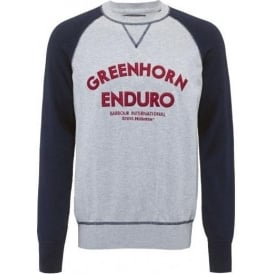 Enduro Crew Neck, Navy
