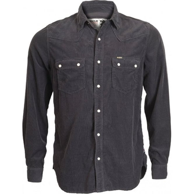 The Barbour Steve McQueen™ Collection Long Sleeve Alfalfa Western Style Corduroy Shirt