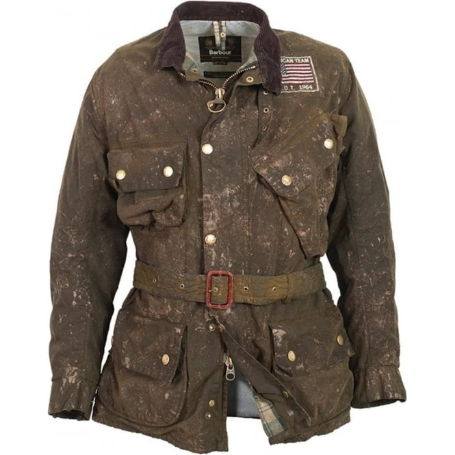 Buy Barbour Steve Mcqueen Collection Macgrain Jacket Fussy Nation
