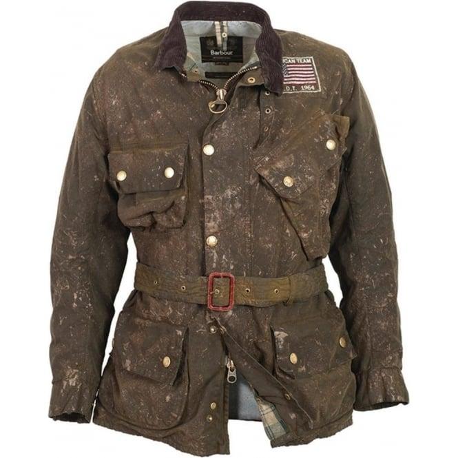 Buy Barbour Steve Mcqueen Collection Macgrain Jacket