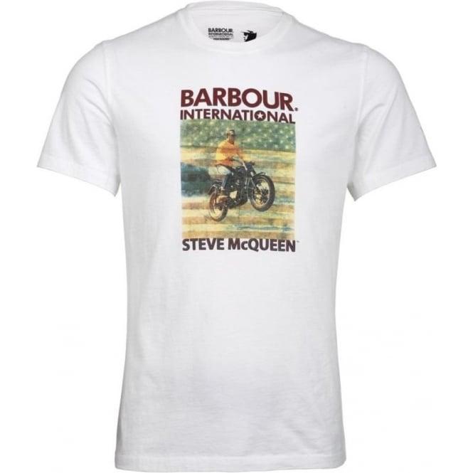 buy barbour steve mcqueen escape t shirt barbour. Black Bedroom Furniture Sets. Home Design Ideas