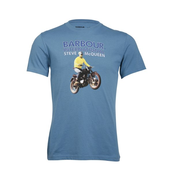 buy barbour steve mcqueen mullholland t shirt barbour fussy nation. Black Bedroom Furniture Sets. Home Design Ideas