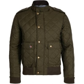 Quilt Flyer Bomber Jacket