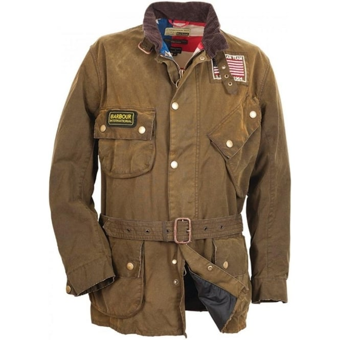 Buy Barbour Steve Mcqueen Collection Rexton Jacket