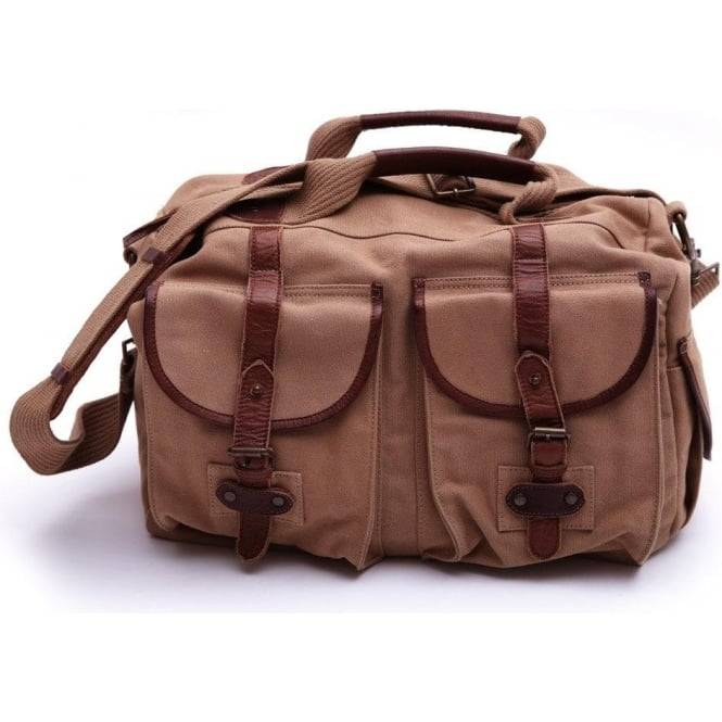 The Barbour Steve McQueen™ Collection SMQ Arcadia Holdall, Dark Sand