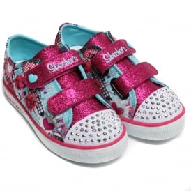 Shoe Size  24 Twinkle Toes by Sketchers Girls Shoes cb9ea4f5f5ed
