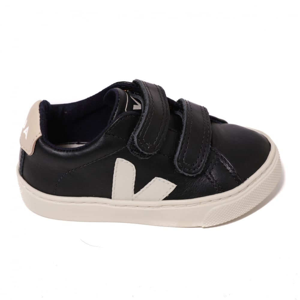 0a9da0851a53 Veja Kids Esplar Small Leather Trainers
